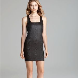 Madison Marcus Speculate Snake Print Dress